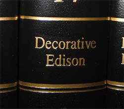 Decorative Edison