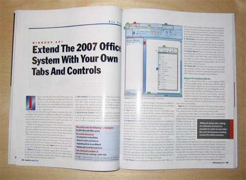 MSDN Magazine Article
