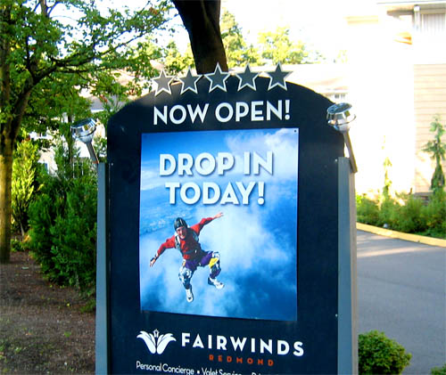 Fairwinds Redmond advertisement