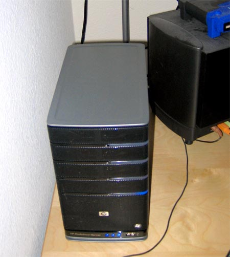 HP MediaSmart Windows Home Server