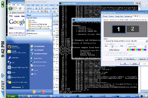 iPhone Remote Desktop Application