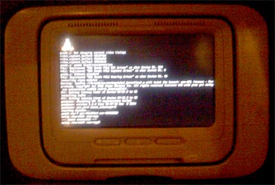 Delta Airlines Linux Console Crash