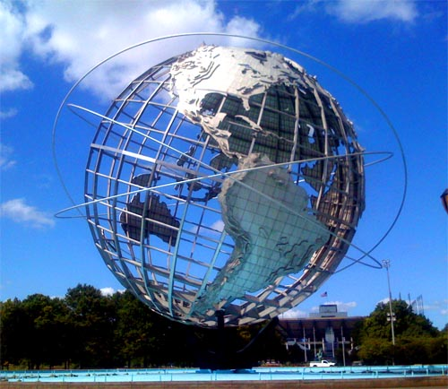 Unisphere at the 1964 New York World's Fair