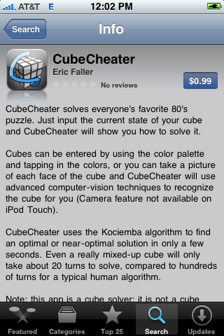 CubeCheater on the App Store