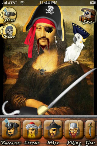 Piratizer iPhone iPod Touch Pirate App