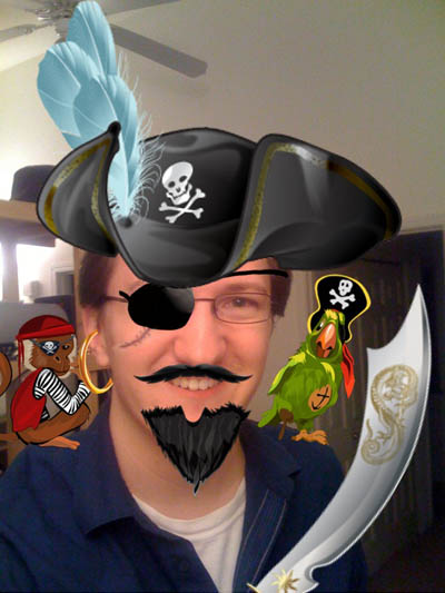 Piratizer - turn your friends into pirates!